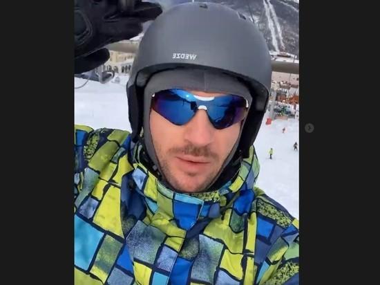 Сергея Лазарева шокировали цены на горнолыжном курорте в Сочи