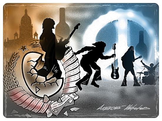 Любовь, рок-н-ролл и весна