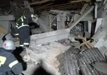 Сильный взрыв произошел в воскресенье вечером в деревне Лукьяново (городской округ Серпухов, Московская область)