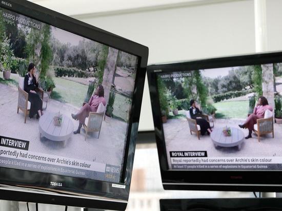 Скандальное интервью британского принца Гарри и Меган Маркл  американской телеведущей Опре Уинфри вышло в эфир