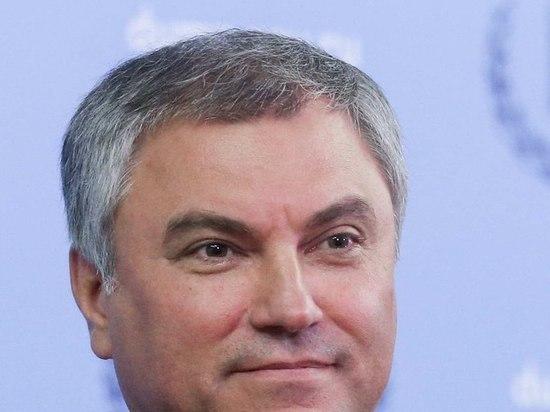 Володин: более трети депутатов Госдумы перенесли коронавирус