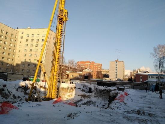 В Новосибирске начали строить новое 16-этажное студенческое общежитие