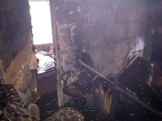 В Смоленской области произошел пожар в частном доме