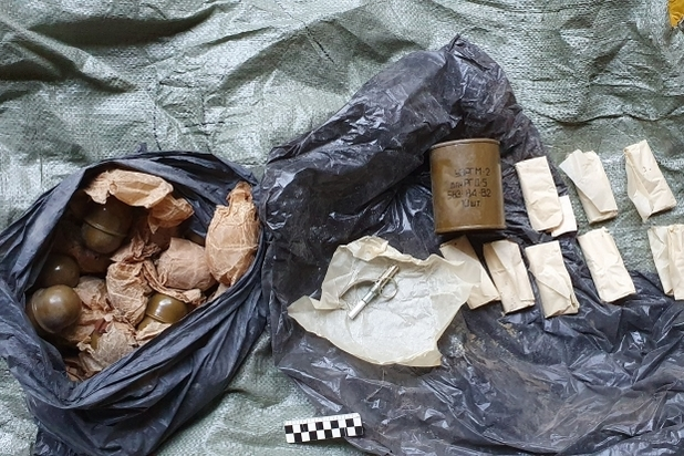 Схрон с гранатами нашли в Волгоградской области сотрудники ФСБ , фото-3