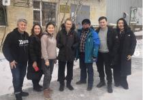 Ксения Собчак приехала в Якутию снять фильм о якутском кино