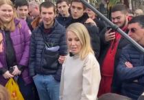 Ксения Собчак приехала в Сочи брать интервью у одного из актёров