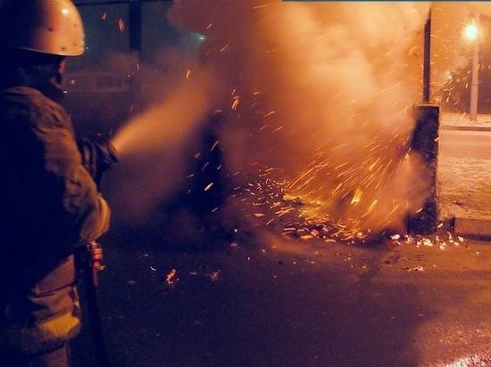 В Хакасии за сутки произошло 6 пожаров, спровоцированных сжиганием мусора