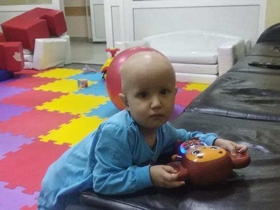 Двухлетний Вова из Заринска борется с раком: иммунотерапия – шанс на спасение!