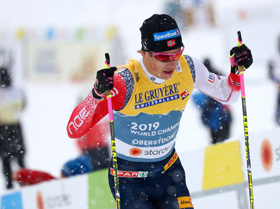 Норвежский лыжник Клебо настоял на отзыве апелляции на свою дисквалификацию