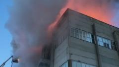 Во Владимирской области загорелся цех вблизи оборонного завода: видео