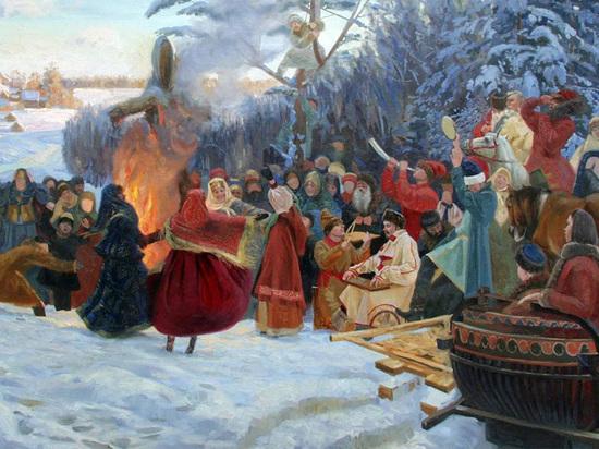 Как псковичи на Масленицу старых дев жгли: жутковатые традиции наших предков