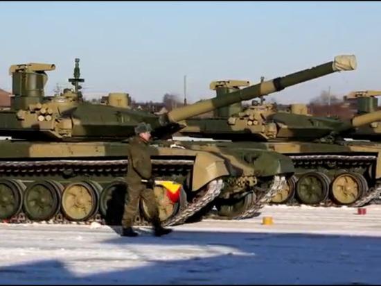 Западный округ получил новейшие танки «Прорыв»