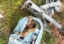 Беспилотный летательный аппарат «Форпост-Р» ВКС России разбился в Сирии в ходе разведывательного вылета