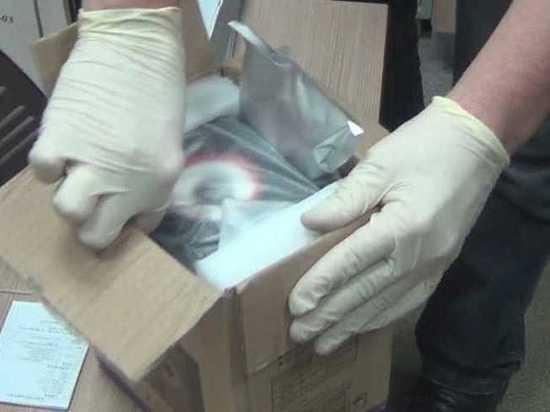 Посылка с амфетамином на 17 млн пришла в Дагестан из Германии