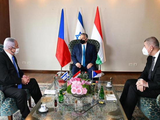 Главы правительств Израиля, Чехии и Венгрии встречаются в Иерусалиме