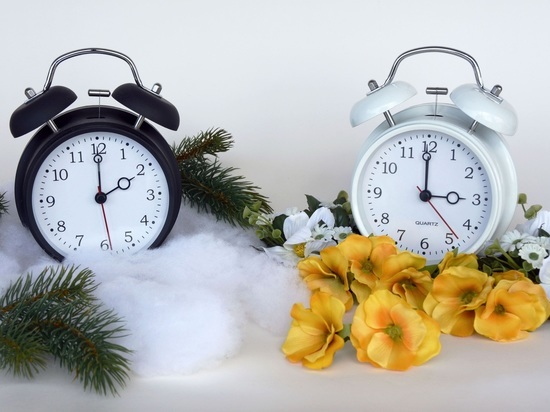14 марта не забудьте перевести часы