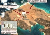 На территории стратегического с точки зрения своего расположения острова Перим у Баб-эль-Мандебского пролива в Красном море идет строительство военной базы
