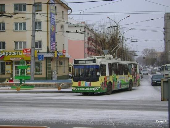 Сегодня в Абакане произошел сбой в работе троллейбусов