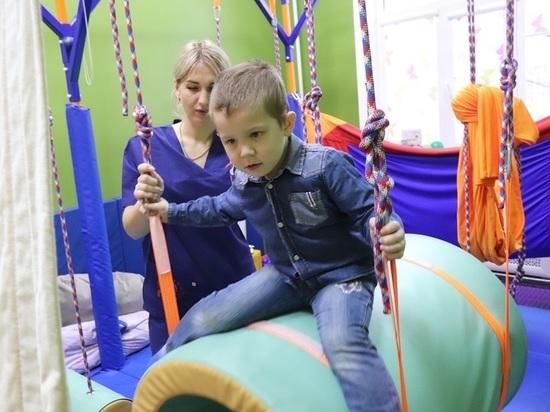В Астраханской области появился новейший комплекс для детей с ОВЗ