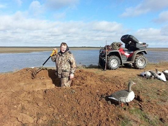 В Калмыкии на десять дней разрешена охота на белолобых гусей без подсадок