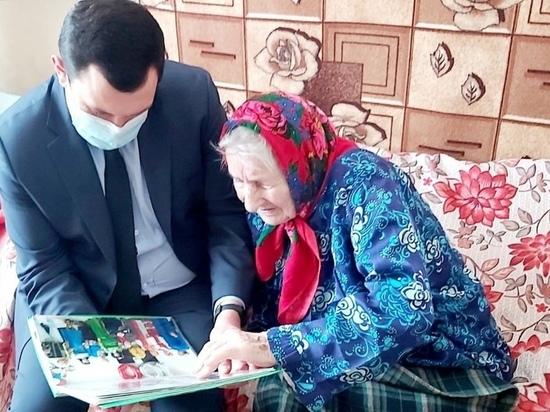 101-летняя жительница Псковской области привилась от COVID-19