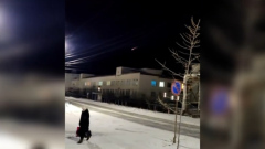 Космический мусор с МКС сгорел в небе над Якутией: видео