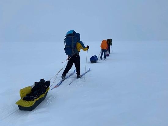От старта до финиша: первая команда карельских лыжников преодолела 225 километров