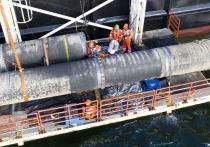 Строителям газопровода предстоит борьба с балтийскими штормами и американскими санкциями