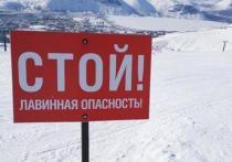 В горах Хакасии лавиноопасно