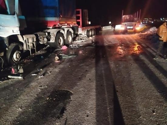Водитель «Мерседеса» погиб в ДТП с КамАЗом в ЯНАО