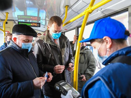 Новые троллейбусы, прибывшие из Москвы, начали работу на линии