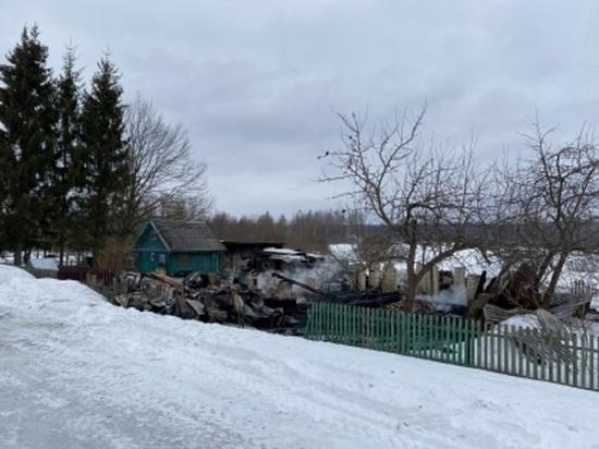 Пожар на даче в Тверской области унёс жизнь 80-летней пенсионерки