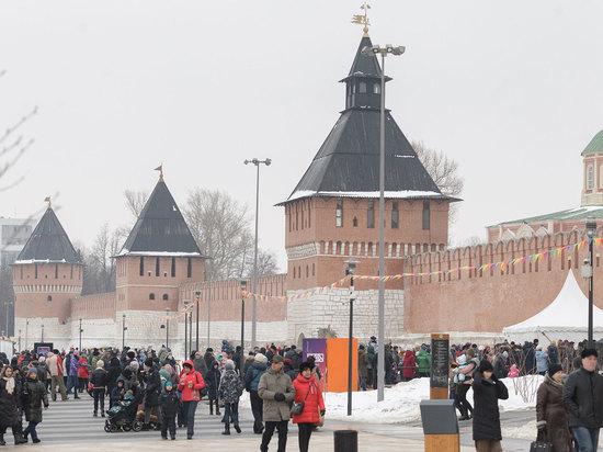 В Тульском кремле состоялся телемост с соотечественниками, живущими в других странах