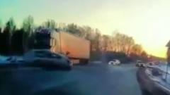Момент смертельного ДТП в Свердловской области попал на видео