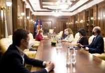 Гречаный провела совещание с врио премьер-министра Чокоем