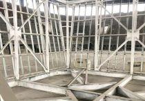 На Арене Кузнецких Металлургов в Новокузнецке начался второй этап строительных работ