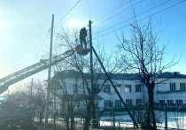 Энергоснабжение частично восстановили в Балее