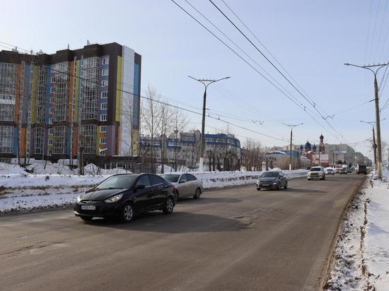 В Чебоксарах началась подготовка к ремонту дороги на улице Гражданской