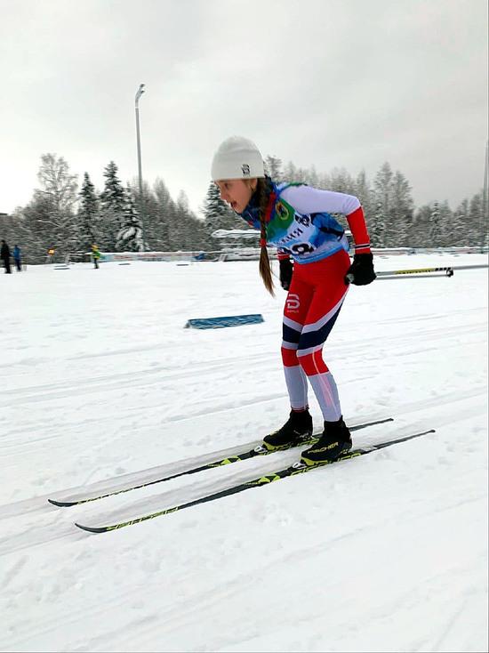 Секунды отделили юную петрозаводскую лыжницу от бронзы на всероссийских соревнованиях