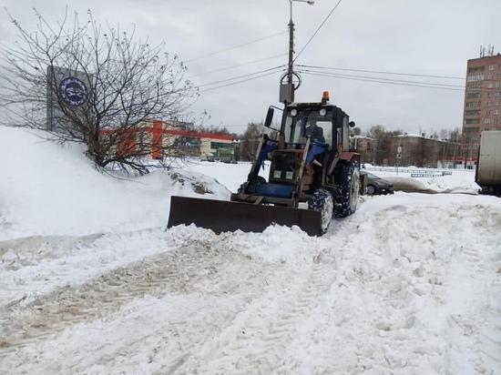 Больше 135 тысяч кубов снега вывезено из Йошкар-Олы за зиму