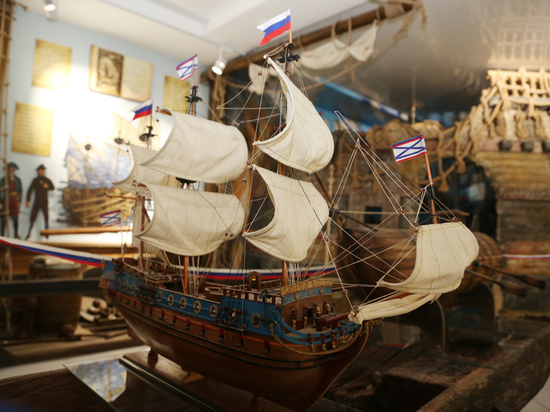 Воронежский музей «Петровские корабли» представил новую экспозицию