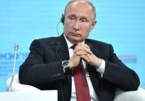 Путин планирует принять участие в ПМЭФ в очной форме