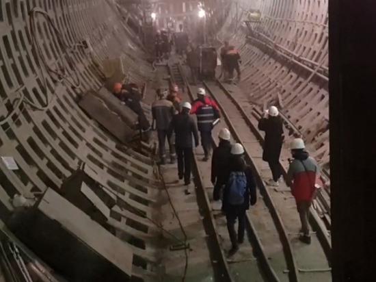 Стройка «коричневой» ветки петербургского метро немного ускорилась