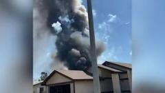 Дом в США разнесло от взрыва фейерверков: видео