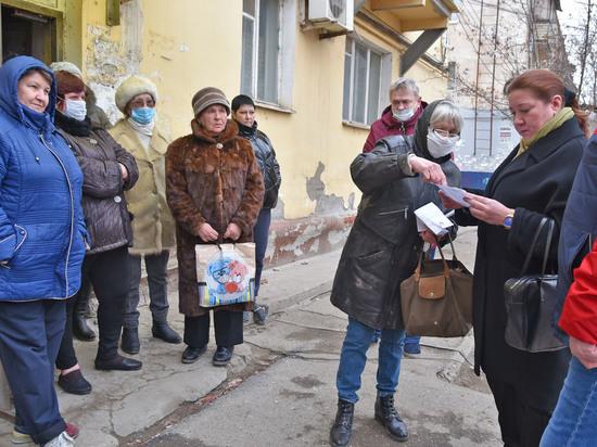В Астрахани пытаются наладить диалог с жителями аварийных домов
