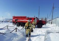 Пожарные спасли дом в селе Сунтар и баню в Якутске