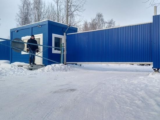 Новая охранная система установлена на водоочистных сооружениях в Архангельске