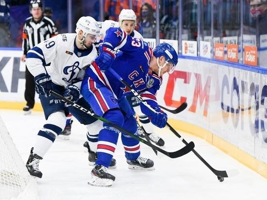 СКА уступил «Динамо» в первом матче серии плей-офф Кубка Гагарина