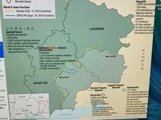 Численное превосходство на стороне украинской армии