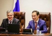 Айсен Николаев подвёл итоги визита Президента РАН в Якутию